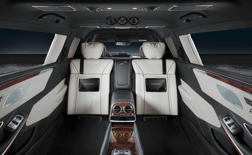 Mercedes-Maybach S600 Pullman Guard Cabin