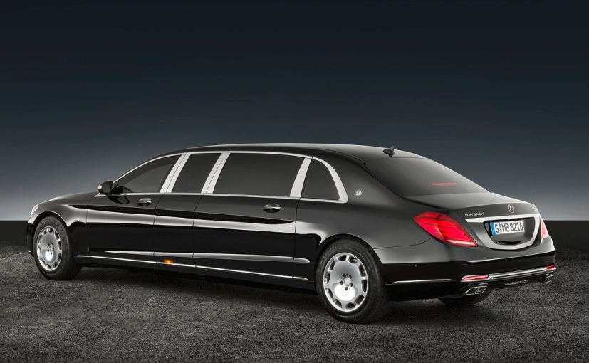 Mercedes-Maybach S600 Pullman Guard Rear