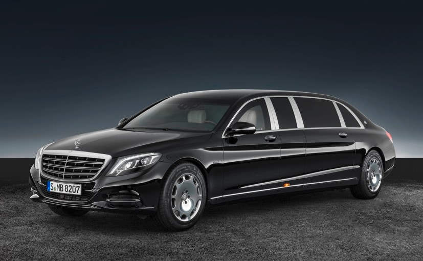 Mercedes-Maybach S600 Pullman Guard Revealed Ahead Of Paris Motor Show