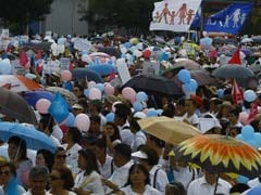 Thousands Protest In Mexico Against Gay Marriage Legalization