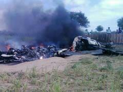 राजस्थान के बाड़मेर में क्रैश हुआ वायुसेना का मिग-21 विमान, सुरक्षित बाहर निकले दोनों पायलट