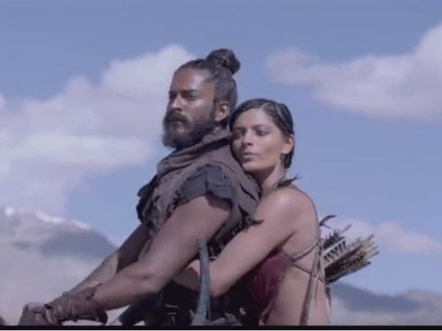 Harshvardhan, Saiyami Dare You to Love in Mirzya Title Track