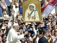 'Now A Saint, Always A Mother,' Pope Francis Hails Teresa Of Calcutta