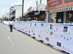 मदर टेरेसा के सम्मान में चेन्नई के छात्रों ने बनाया 1000 मीटर लंबा स्क्रॉल
