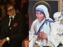 Amitabh Bachchan Tweets Remembering Saint Teresa of Calcutta