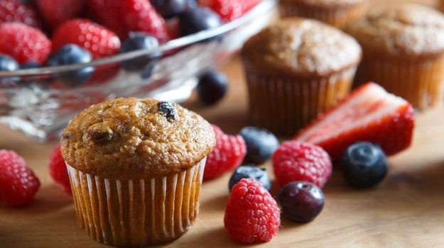 muffin fruit
