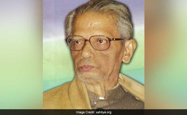 Eminent Assamese Poet Nalinidhar Bhattacharya Passes Away