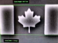 Nano-Scale Canadian Flag Sets Guinness World Record