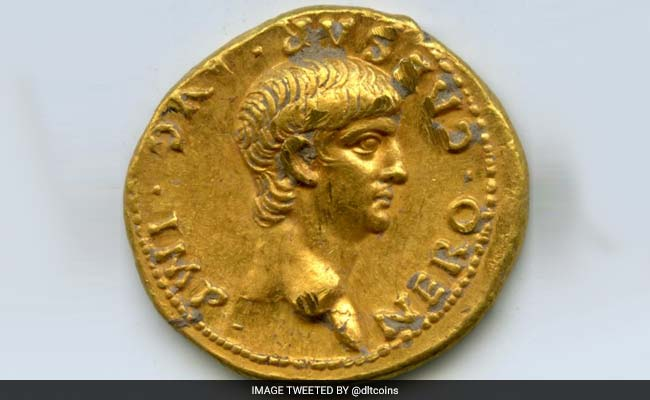 Exceptionally Rare' Roman Gold Coin With Nero's Face Found In Israel