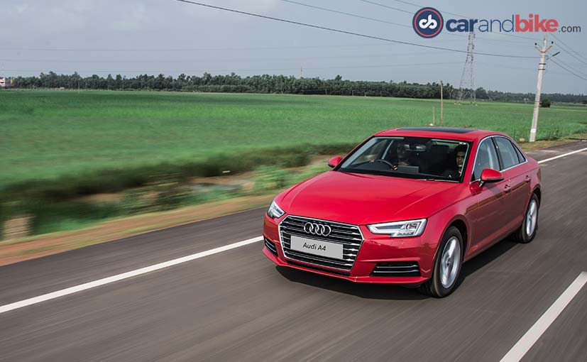 Audi To Launch Diesel Variant Of The A4 In February