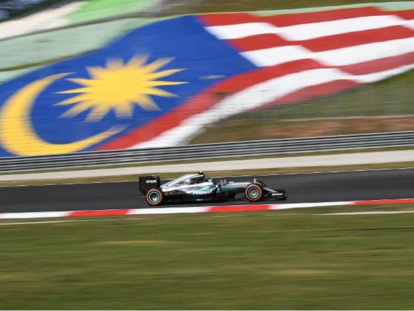 Formula One: Nico Rosberg Quickest in Fiery Malaysian GP Practice