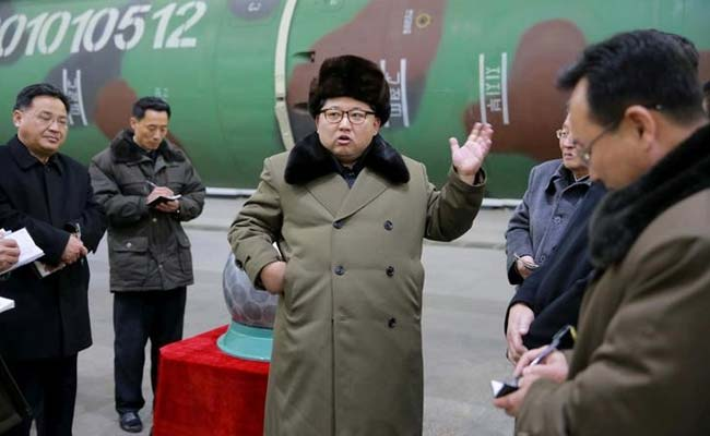 North Korea Warns Of A Nuclear Test 'At Any Time'