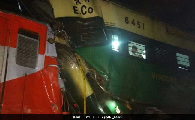 1 Killed, 22 Injured As Passenger Train Rams Goods Train In Cuttack
