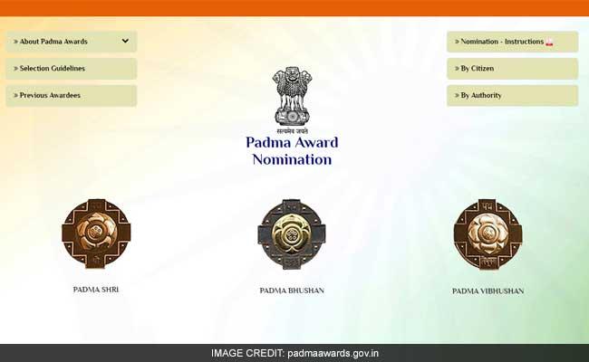 पद्म सम्मान के लिए 2500 से ज्यादा आवेदन किए गए