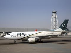 Crashed Pakistan International Airlines Plane Reportedly On Fire