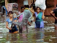 Heavy Rain In Patna, Many Localities Submerged In Knee-Deep Water