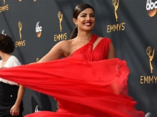 Emmys: Priyanka Chopra Sets Red Carpet on Fire in Traffic-Stopping Dress