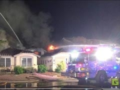 Plane Crashes On A House In US, Everyone Survives