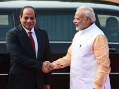 India, Egypt To Step Up Security Cooperation