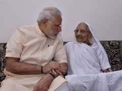 In Gandhinagar For BJP Meet, PM Modi Makes Quick Detour To Meet Mother Heeraben