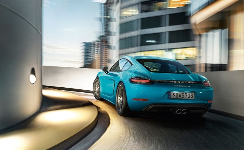 Porsche 718 Cayman Rear