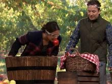 Priyanka Chopra And Jimmy Fallon Bob For Apples. It's Funny, Really