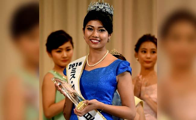 Half-Indian Priyanka Yoshikawa Crowned Miss Japan