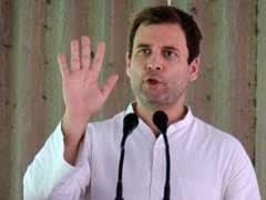 """""""You Lied Again"""": Rahul Gandhi On PM Modi's """"Made In Amethi"""" Swipe"""