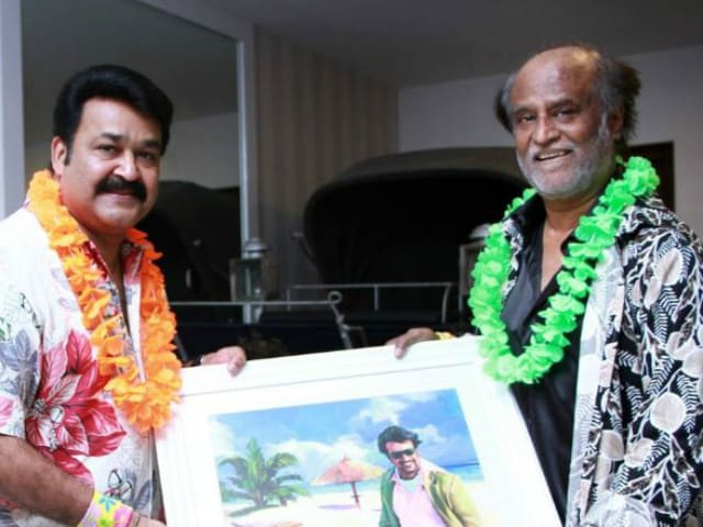 Rajinikanth 'Enjoyed' a Special Show of Mohanlal's Oppam