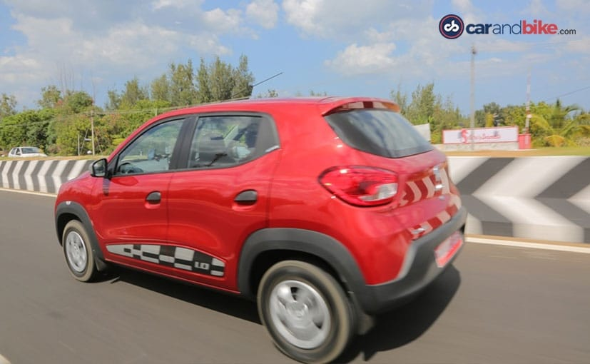 Renault Kwid 1-Litre Side Profile