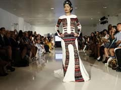 Indian Acid Attack Survivor Walks The Ramp At New York Fashion Week