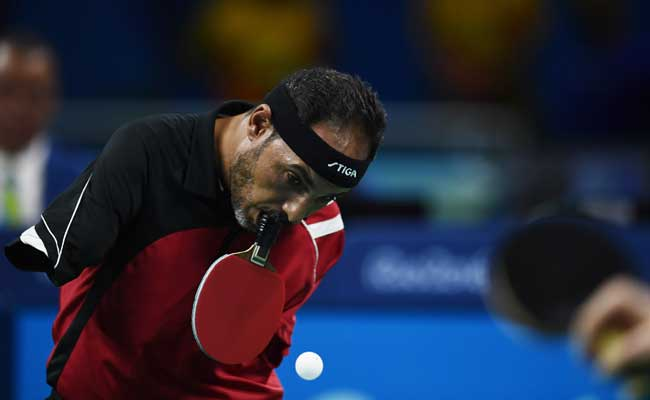Egypt S Armless Table Tennis Legend Is In A Class Apart