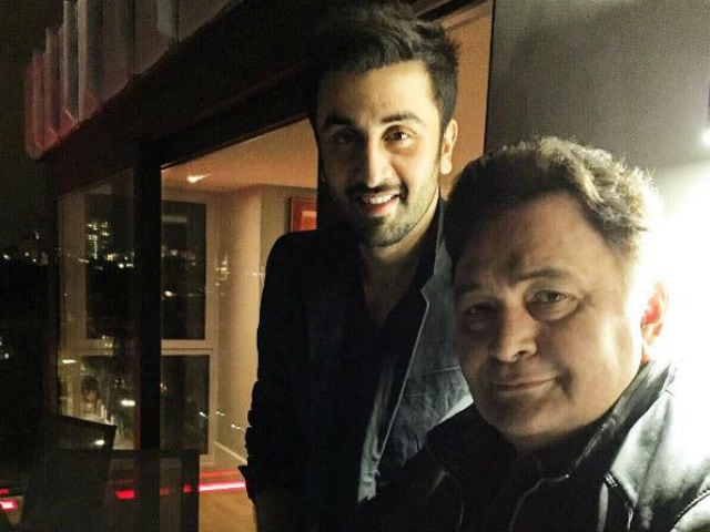 Ranbir Kapoor Turns 34, Dad Rishi Tweets Heart-Warming Birthday Wish