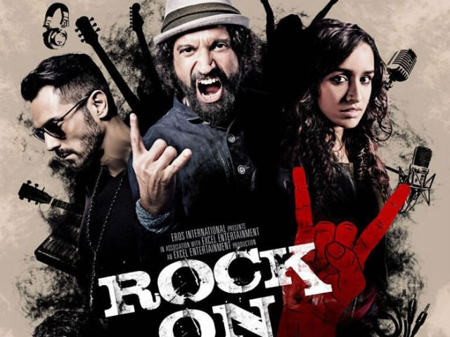Farhan, Shraddha Tweet Character Posters From Rock On 2