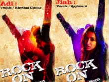 Farhan, Shraddha Tweet Character Posters From <i>Rock On 2</i>