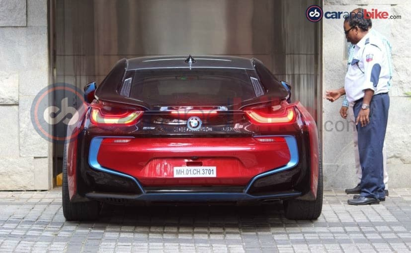 Sachin Tendulkaru0027s BMW I8