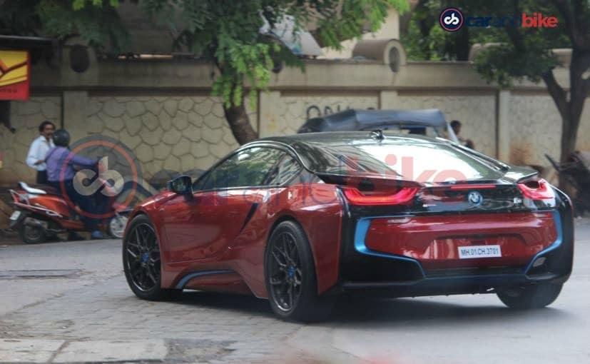 Worksheet. Sachin Tendulkar Customises His BMW i8  NDTV CarAndBike