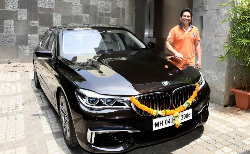 Sachin Tendulkar Adds A New Customised Bmw 750li M Sport To His Garage Ndtv Carandbike