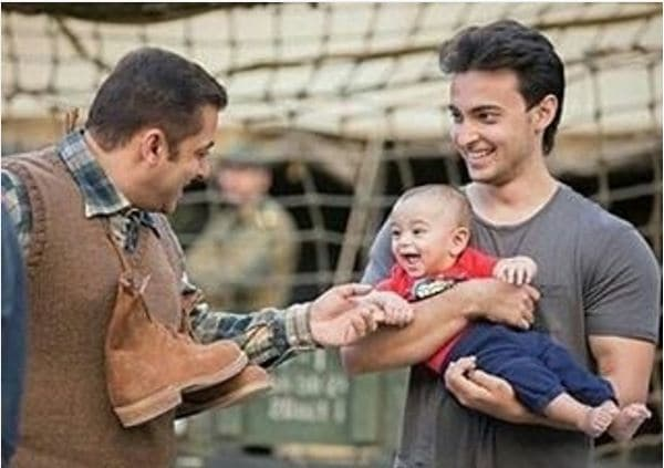 This Photo of Salman Khan With Nephew Ahil Will Melt Your Heart