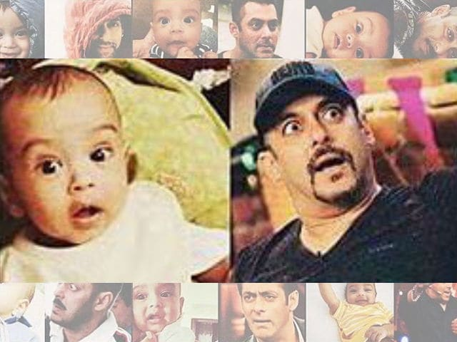 Salman Khan And Nephew Ahil Have Exact Expressions. Here's Proof