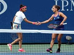 सानिया मिर्जा डबल्स खिताब से महज एक मैच दूर, चेक गणराज्य की स्ट्राइकोवा के साथ फाइनल में पहुंचीं