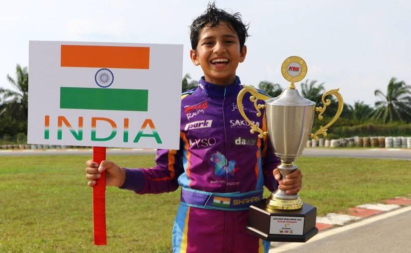 Shahan Ali Mohsin Asia Karting Championship