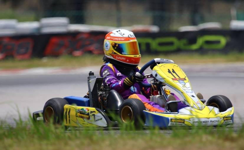 12-Year Old Shahan Ali Mohsin Becomes First Indian To Win Asian Karting Championship