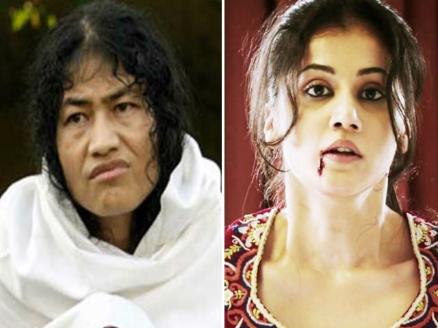 Taapsee Pannu To Play Irom Sharmila in Biopic?