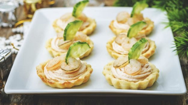 Shrimp and Salmon Mousse