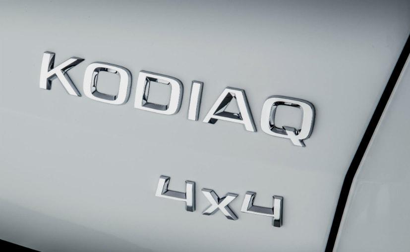 Skoda Kodiaq 4x4 badge