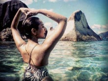 Sonakshi Sinha's Holiday Pics Will Give You the Blues But in a Good Way