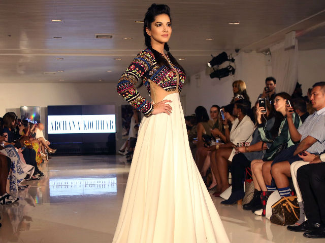 Sunny Leone Rules the Ramp at New York Fashion Week