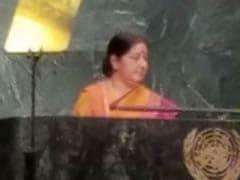 India Will Ratify Paris Climate Deal On October 2, Sushma Swaraj Tells UN