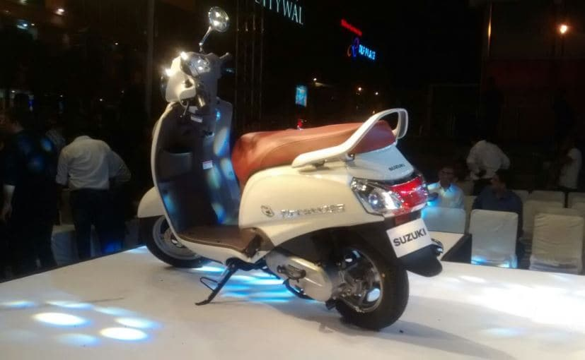 Suzuki Access 125 Special Edition gets no mechanical changes